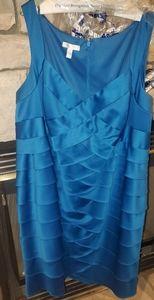 Dress Size 22 - sleeveless blue